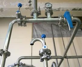 Кольцевые системы Воды Очищенной и Воды Для Инъекций цеха
